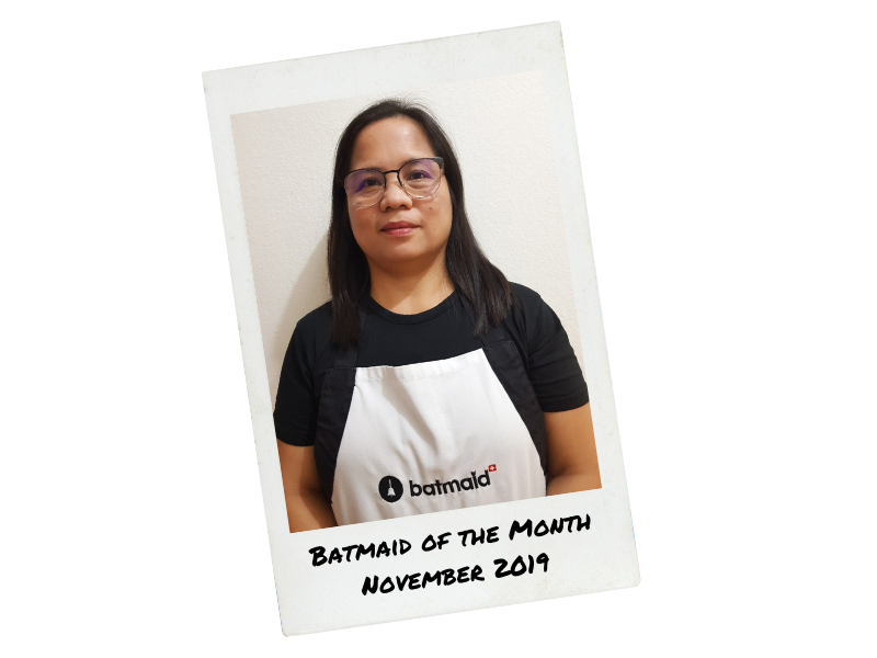Batmaid of the Month - November 2019
