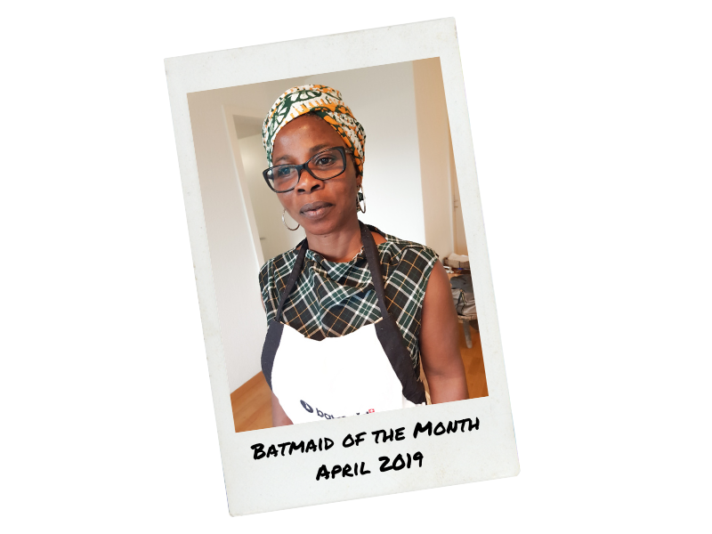 Batmaid of the Month - Aprile 2019