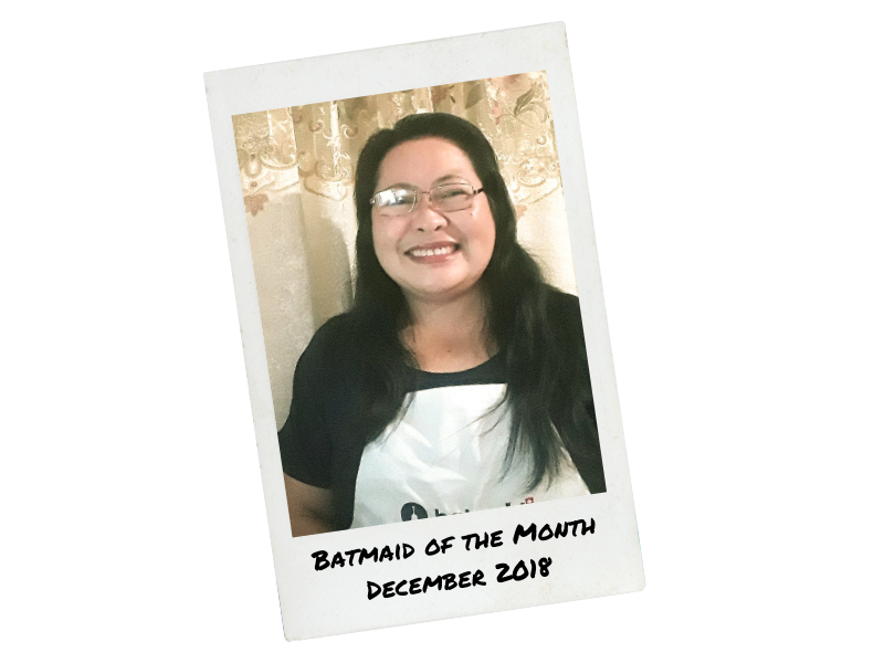 Batmaid of the Month - Dicembre 2018