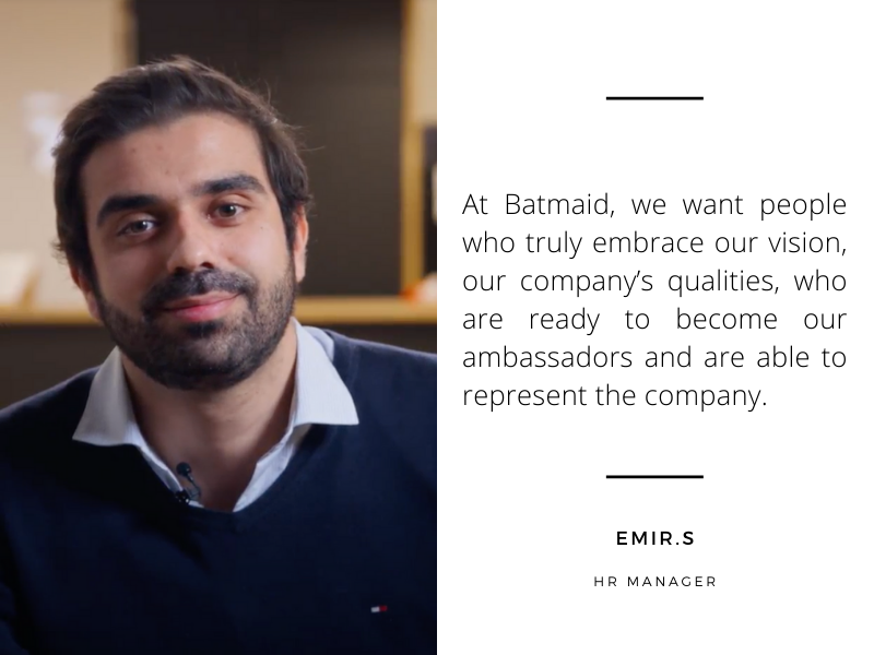 Introducing Emir: HR Manager at Batmaid