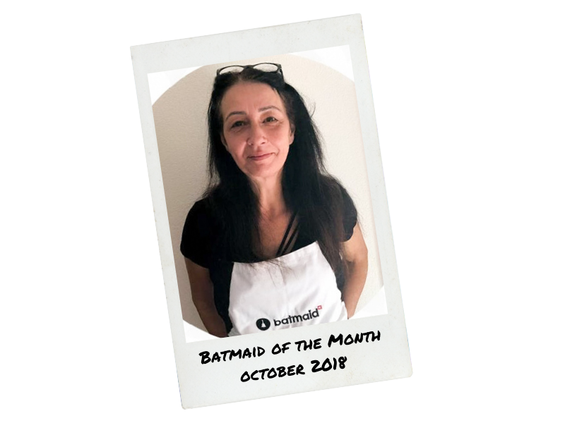 Batmaid of the month - October 2018