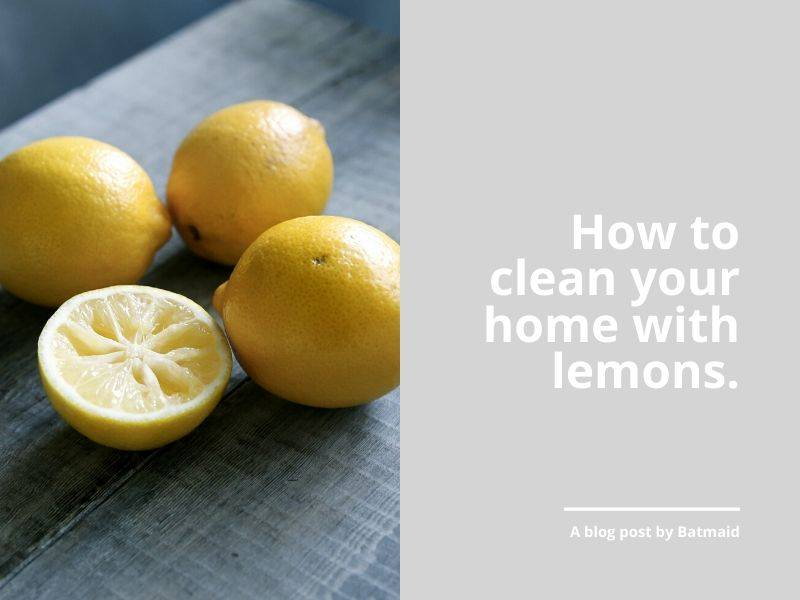 Grandma's Tips: How to clean your home with Lemons!