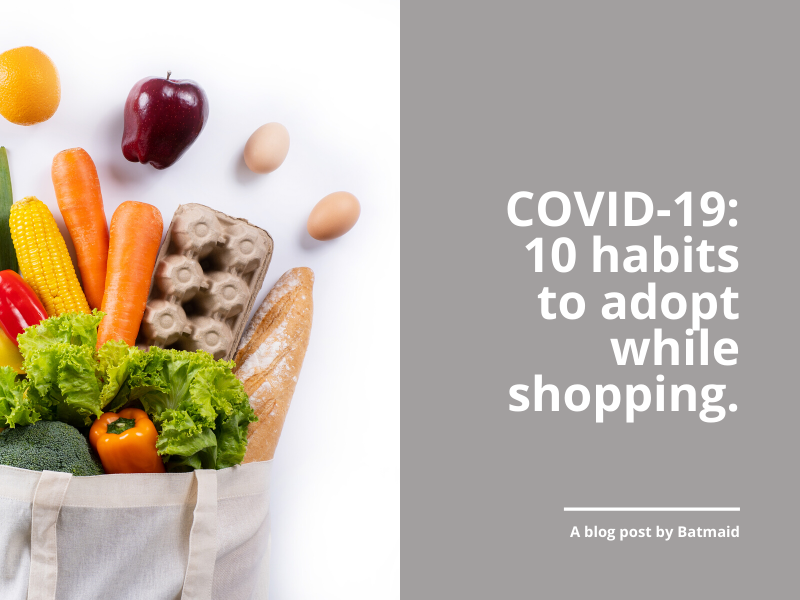COVID-19: 10 habits to adopt while shopping