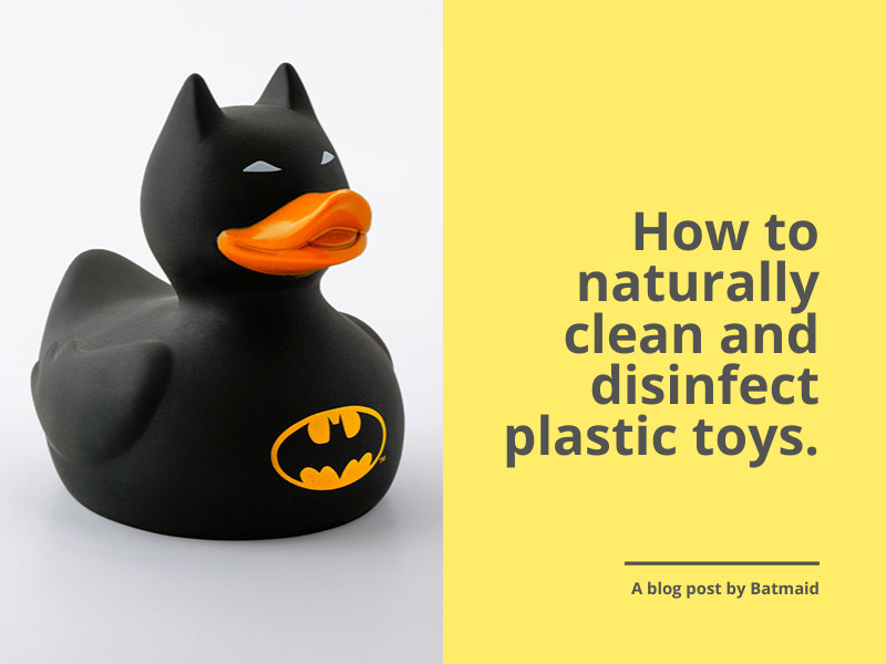 How to naturally clean and disinfect plastic toys