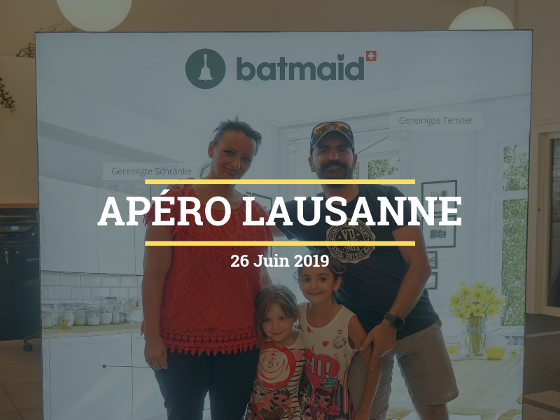 Batmaid Apéro Lausanne - June 2019