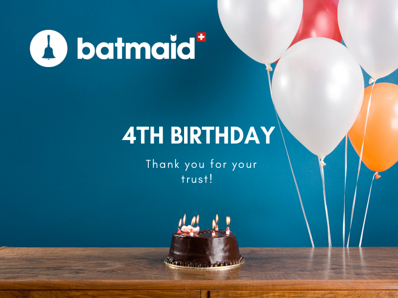 Batmaid blows its 4th candle