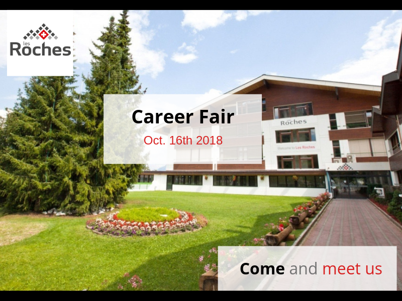 Les Roches Bluches Career Fair