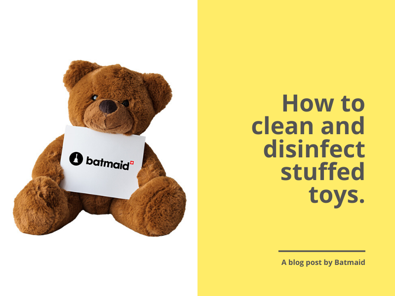 How to clean and disinfect stuffed toys