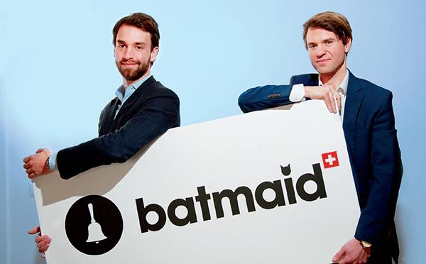 Andreas Schollin-Borg et Eric Laudet co-fondateurs Batmaid.com